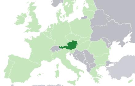 Austria Zappa Wiki Jawaka - Austria location